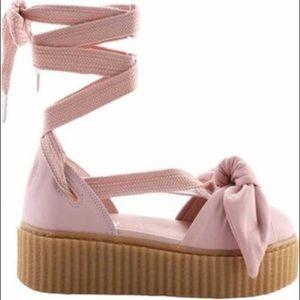 FENTY PUMA bow creeper platform sandal
